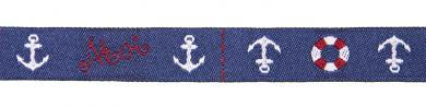 woven ribbon ahoi anchor lifesaver