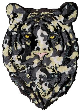Wholesale Application iron-on Tiger