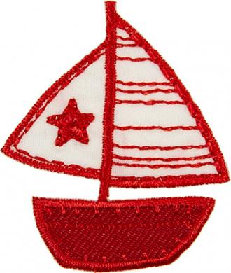 Applikation Segelschiff