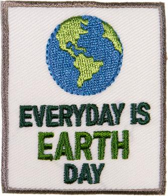 Wholesale Applikation Eyeryday is Earth Day