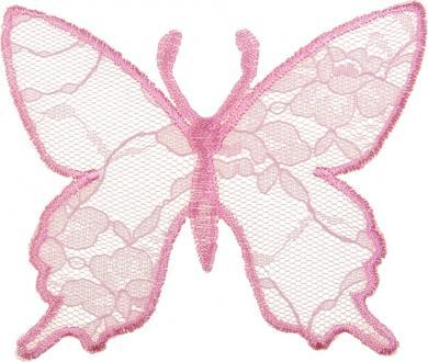 Motif Butterfly Lace