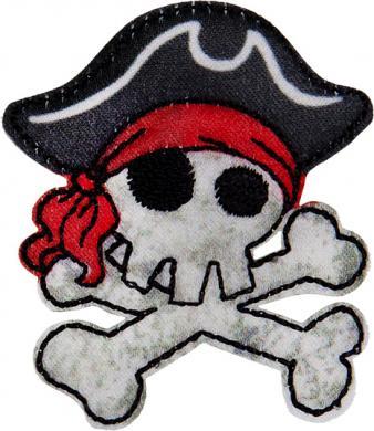 Applikation Piratentotenkopf