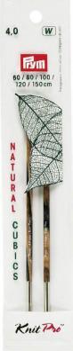 Nadelspitzen CUBICS Natural lang 11,6cm