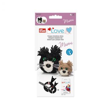 Großhandel Prym Love Pompon Schablone Katze Mimi
