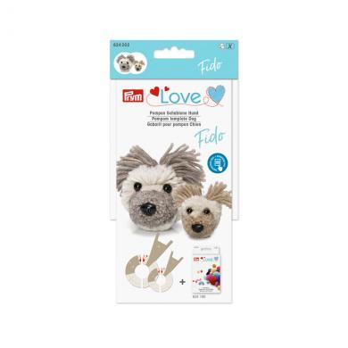 Großhandel Prym Love Pompon Schablone Hund Fido