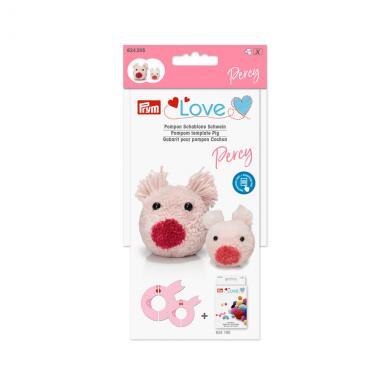 Prym Love Pompon model pig Percy