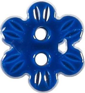 Großhandel Knopf 2-Loch Blume 13mm