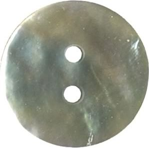Großhandel Knopf 2-Loch Perlmutt 15mm
