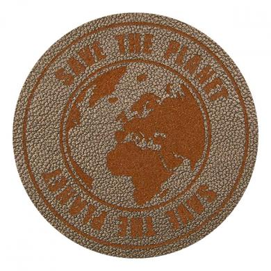 Motiv Save the Planet Silvergrey
