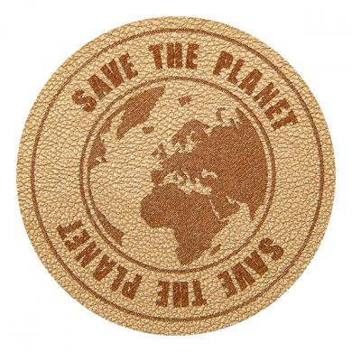 Motif Save the Planet Gold