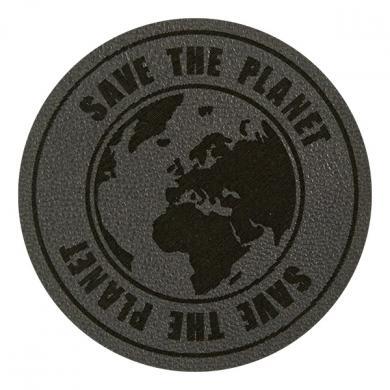 Motif Save the Planet Grey