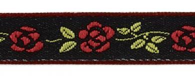 Großhandel Webband 9mm Rosen