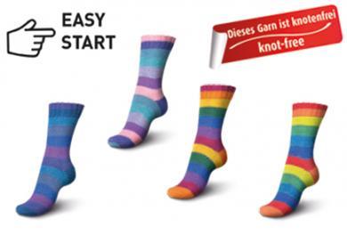 Großhandel Regia Pairfect Rainbow Color 150g 6-fädig