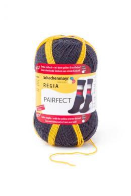 Regia Pairfect 4-fädig Color 100g