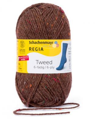 Großhandel Regia 6-fädig Tweed 50g