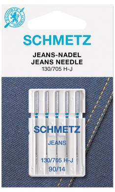 Nähmaschinennadeln 130/705 Jeans 90