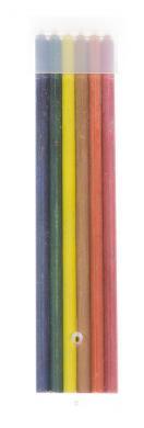 Kreideminen für Halter farbig