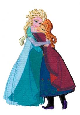 Großhandel Applikation Frozen Elsa&Anna