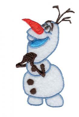 Großhandel Applikation Frozen Olaf