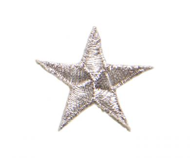 Applikation Stern beige