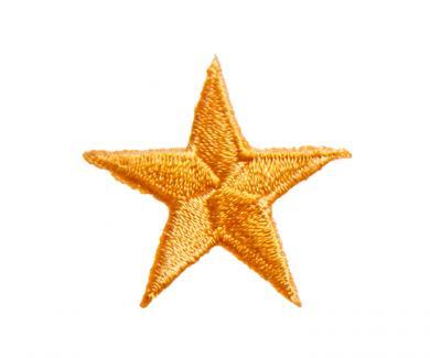Motif star orange