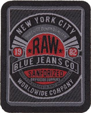 Applikation RAW BLUE JEANS CO.