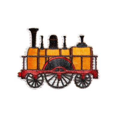 Applikation Lokomotive Retro