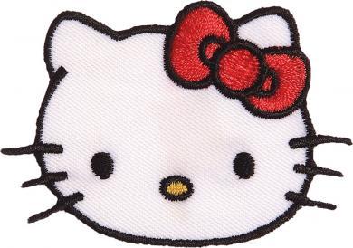 Großhandel Applikation Hello Kitty Gesicht