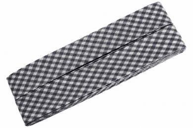 Vichy-Schrägband gef.40/20mm 3m Coupon