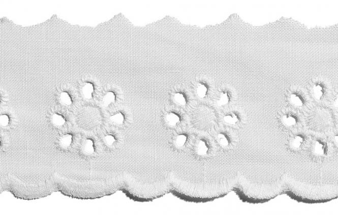 Wholesale Scalloped Lace 40Mm 100%Co