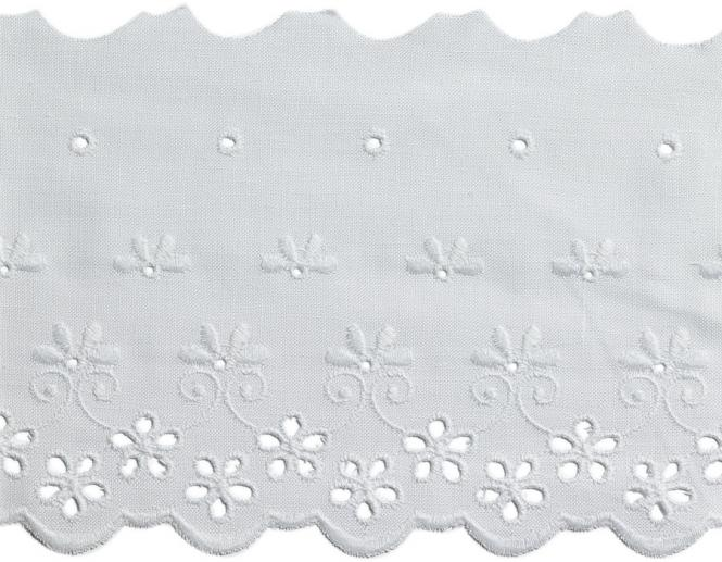 Wholesale Scalloped Lace 90Mm 100%Co