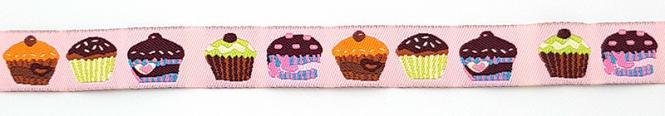Großhandel Webband Muffins 15mm