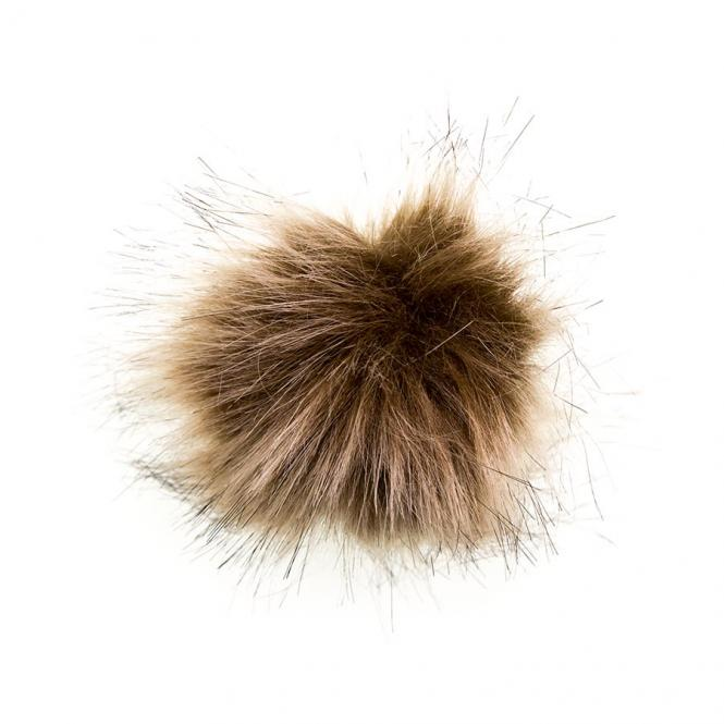 Wholesale Faux Fur Pom Poms 8cm