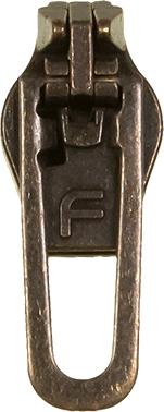 Großhandel Fix-A-Zipper Metall Größe 5 Altgold