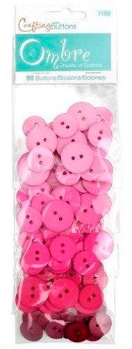 Großhandel Buttons Ombre Pink