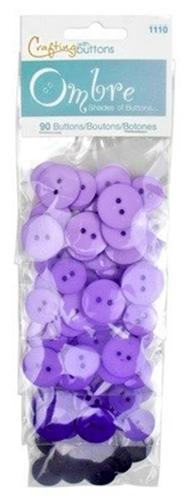 Großhandel Buttons Ombre Purple