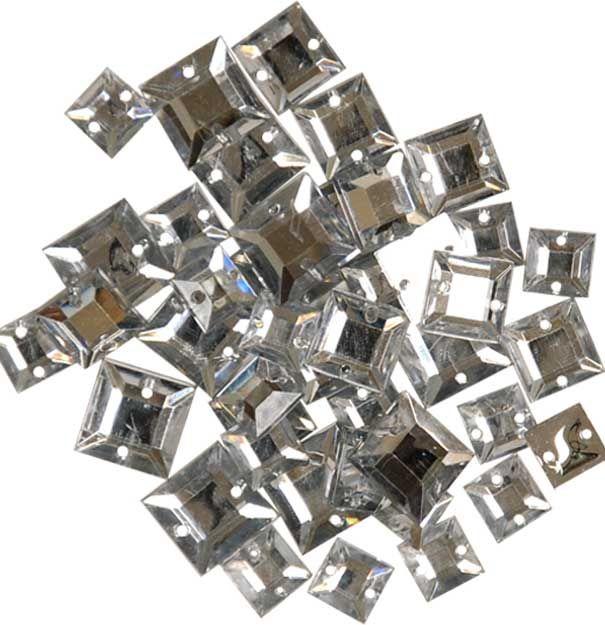 "Großhandel Favorite Findings 1218 ""Gems Clear Square"""
