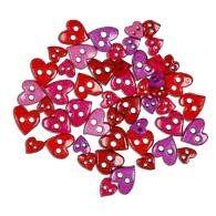 "Großhandel Favorite Findings 1395 ""Colorful Mini Hearts"""