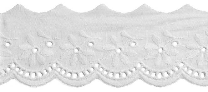 Wholesale Scalloped Lace 48Mm 100%Co