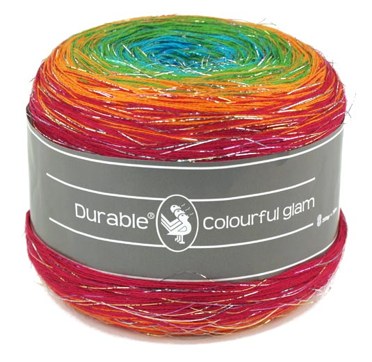 Großhandel Durable Colourful glam 2x200g