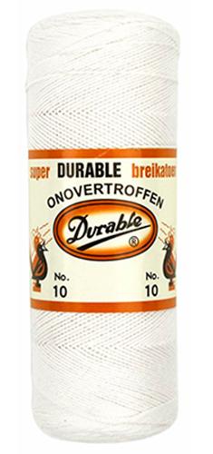 Großhandel Durable Häkelgarn 10 10x100g weiß
