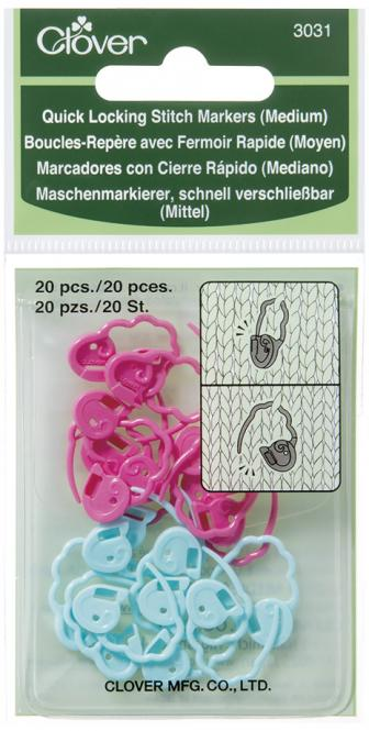 Wholesale Quick Locking Stitch Markers Medium