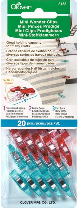 Großhandel Mini Wonder Clips 20St.