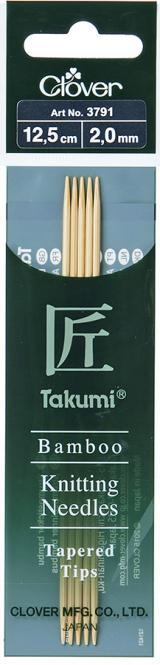 Großhandel Takumi Bambus-Strumpfstricknadeln