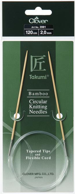 Wholesale Takumi Bamboo Circular Knitting Needles