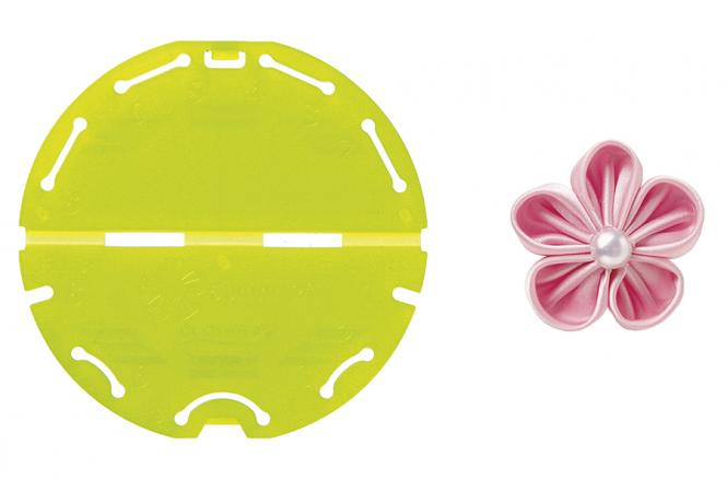 Großhandel Kanzashi-Blumen-Schablone (Orchideenblüte/Kleine Größe)