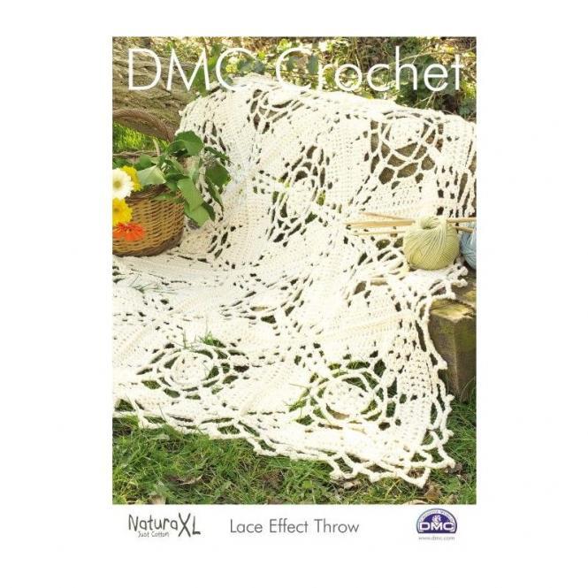 Wholesale DMC Croching-Instructions Lace-Effect Wrap