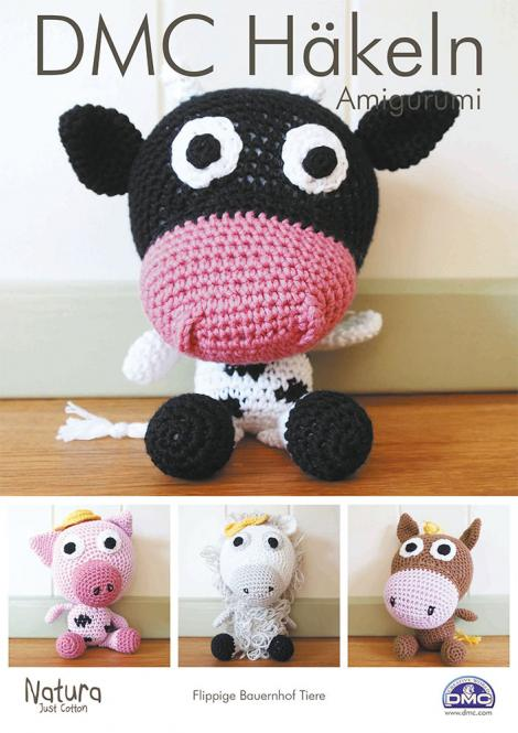 Wholesale DMC Croching-Instructions hip farm animals