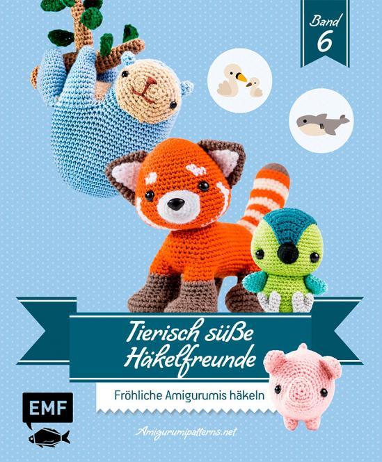 Großhandel Tierisch süße Häkelfreunde 6