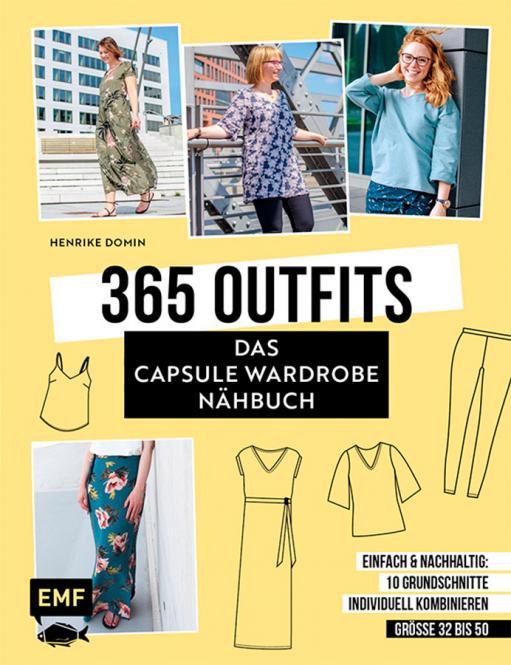 Großhandel 365 Outfits - Das Capsule Wardrobe nähbuch